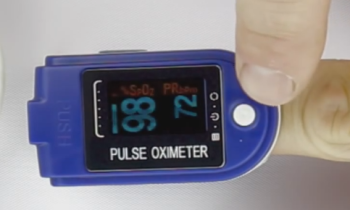 oximeter normal oxygen saturation level